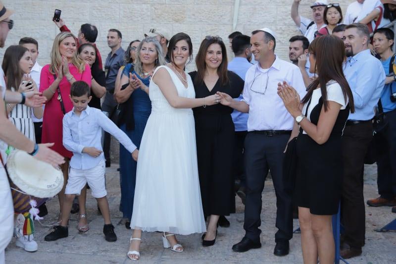 חתונה בכותל שרי ואורן10
