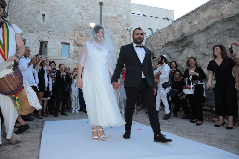 חתונה בכותל שרי ואורן4