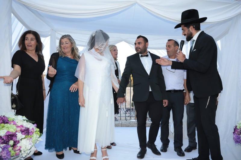חתונה בכותל שרי ואורן5