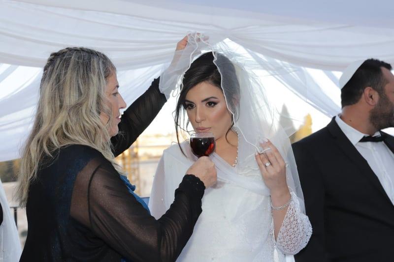 חתונה בכותל שרי ואורן6