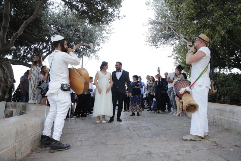 חתונה בכותל שרי ואורן9