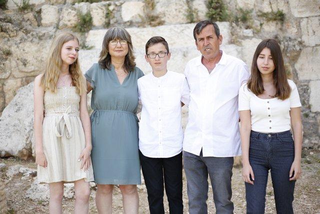 10הפקת בר מצוות בכותל   משפחת שרון