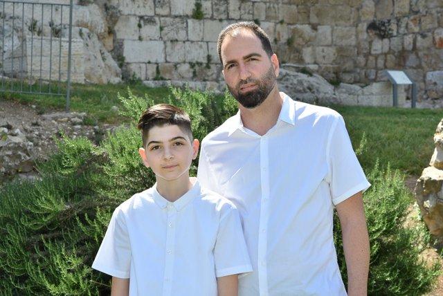 7הפקת בר מצוות בכותל   משפחת סולומון
